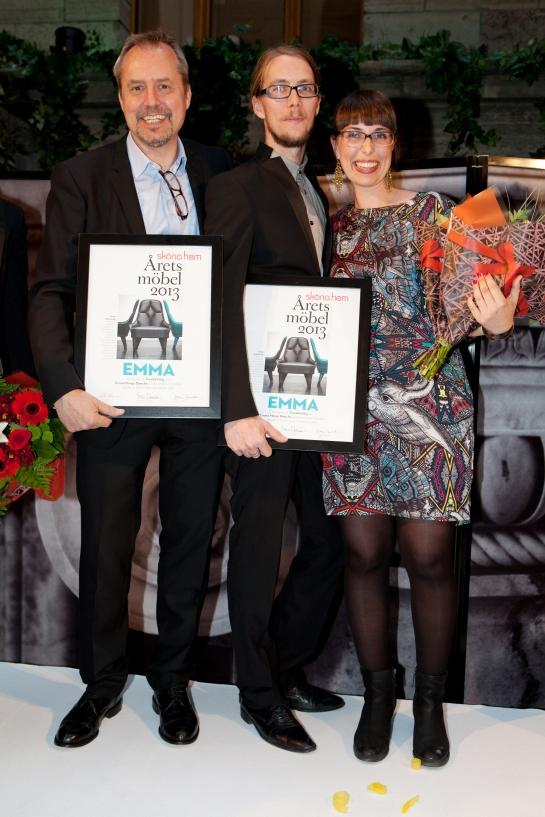 Dag Klockby, Fredrik Färg och Emma Blanche